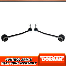 Dorman Front Lower Forward LH RH Control Arms Ball Joints For 2015 Ford Mustang
