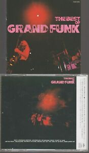 Grand Funk Railroad Best Of Cd Import Japan (no obi) TOCP-3178