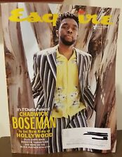 Esquire Magazine Summer 2018 Chadwick Boseman Black Panther Chris Rock Quentin