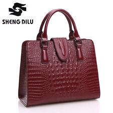 Fashion Women Bag High Quality Lady's Genuine Leather Handbag Girls Shoulder Bag