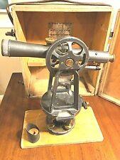 Vintage David White Surveying Transit Model 8200 In Wood Box