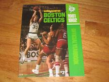 Boston Celtics Basketball Vintage Yearbooks