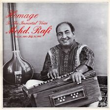 MOHD RAFI HOMAGE TO THE IMMORTAL VOICE 1980 RARE LP RECORD bollywood