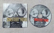 "CD AUDIO DISQUE INT/ U2 (BONO) ""SWEETEST THING"" CDS CARD SLEEVE ISLAND RECORDS"