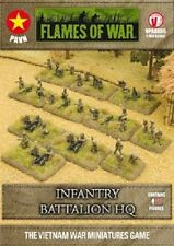 Flames of War - Vietnam: Infantry Battalion HQ VPABX06