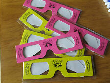 Independence Day 4th of July Fireworks 3-D Glasses Lot of 6