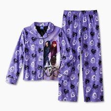 DESCENDANTS 2 Pajamas Girls Size 6-8-10-12 Top/Shirt/Pants Set Disney pj NEW NWT