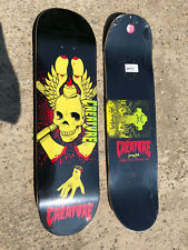 Creature x Jeremy Fish Hesh Boobs Limited Edition Skateboard Deck