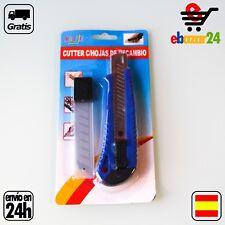 CUTTER hoja 18 mm 16 CM semi profesional *Envío GRATIS desde España*