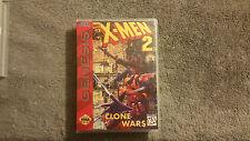 X-Men 2: Clone Wars CUSTOM SEGA GENESIS CASE (NO GAME)
