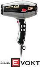Parlux hairdryer 3500 Super Compact black 2000 watts (without Ceramic + ions)