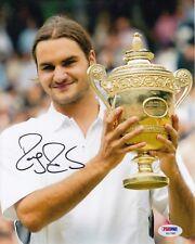 Roger Federer #o  8x10 Signed Photo W/PSA Certification 082618