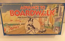 ADVANCE TO BOARDWALK~High Rises & Fast Falls~Vintage 1985~Parker Brothers