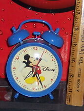 DISNEY MICKEY MOUSE  WIND UP ALARM CLOCK