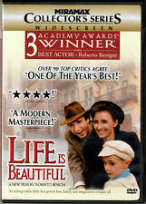 Life Is Beautiful by Roberto Benigni on a Dvd of Wwii Romantic Comedy for Family