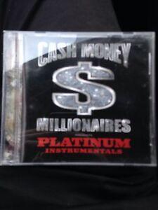 Cash Money Millionaires Presents Platinum Instrumentals CD