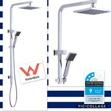 Brand New- Square Rain Shower Rail Set- WELS APPROVED- ON SALE NOW!!