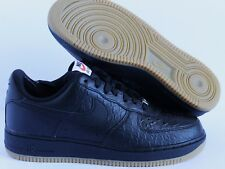 Nike Air Force One Low 08 Lv8 Black Gum Light Brown Crocidile Print - Size 7 14fa9f741