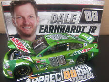 Dale Earnhardt Jr 2017 Mountain Dew Chevy SS 1/24 NASCAR Monster Energy Cup