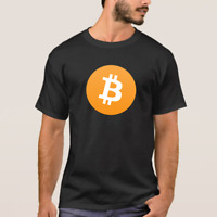 Bitcoin Cryptocurrency t-shirt (Black)
