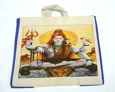 Indische Einkaufstasche Badetasche Shoppingbag Buddha große Tasche Indien Beutel