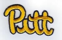1980's Pitt Panthers University patch NCAA Football old logo Pittsburgh