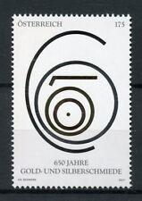 Austria 2017 MNH Gold & Silversmiths 1v Set Traditional Crafts & Trades Stamps
