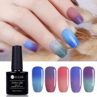 7.5ml Soak Off UV Thermal Furry Gel Polish Color-changing Nail Varnish UR SUGAR
