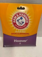 NEW Hoover A Arm Hammer Vacuum Bags Odor Eliminating 2 Bags fits 62601D