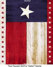 Texas Flag Patriotic Cotton Quilt Fabric Timeless Treasures BTY Red White Blue