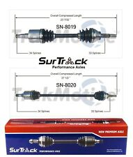 Saturn Ion 1 2 3 FWD 2003-2007 2.2L Pair of Front CV Axle Shafts SurTrack Set