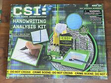 Planet Toys CBS CSI: Crime Scene Investigation Handwriting Analysis Kit New!