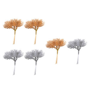 12x Leaves Decorative Foliage for Party Bouquet Garland Making   Decor