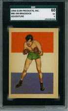 1956 Adventure Boxer # 90 Jim Braddock Graded Card SGC 60 = 5 Gum Products Inc.
