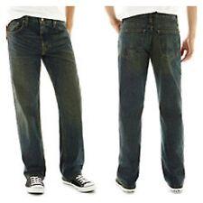 Arizona Loose Fit Straight Jeans Dark Tint Wash 30 x 32