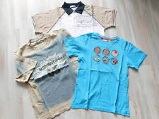 3x T-SHIRT Gr. 134/140 Poloshirt PORTOFINO NKD XiO that´s fun - BATIC -