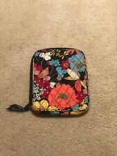Vera Bradley E READER SLEEVE iPad Mini Nook Kindle Cover Case Navy with Flowers