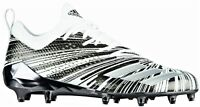 New Adidas Adizero 5-Star 7.0 Low Football Cleats 15 Metallic White Black DB0645