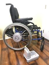 "Quickie XTENDER Power Assist WheelChair Foldable Like E-Motion 18"" W 20"" D"