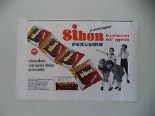 advertising Pubblicità 1967 PERUGINA SIBON