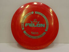 Dynamic Discs BioFuzion Felon Disc Golf Fairway Driver - Red/Green- 174g