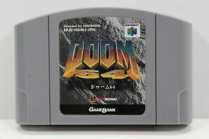 DOOM Nintendo 64 N64 Japan Import US Seller SHIP FAST E1631
