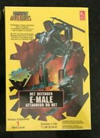 Net Warriors Defender E-Male 1:100 Model Battletech Gundam Mecha New NIB Sealed