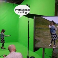 Chromakey Green Screen Muslin Backdrop For Studio Kit Lighting G1E9