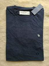 Abercrombie & Fitch Curved Hem Icon Tee Sz Large