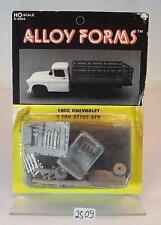 Alloy forms 1/87 h0 METAL KIT 2044 1955 CHEVROLET 2 ton stake Bed ovp#2509