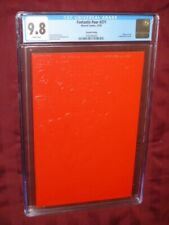 Fantastic Four #371 CGC 9.8 2nd print, Red Embossed cover