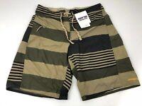 "NWT Patagonia Mens Printed Wavefarer Board Shorts Size 32 Hiking Swim Trunks 21"""