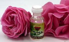 Huile essentielle rose 100 % naturelle et pure massage bain aromathérapie