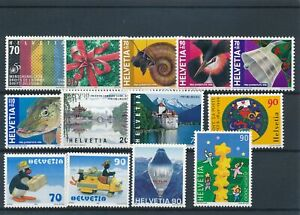[349156] Switzerland good lot of stamps very fine MNH